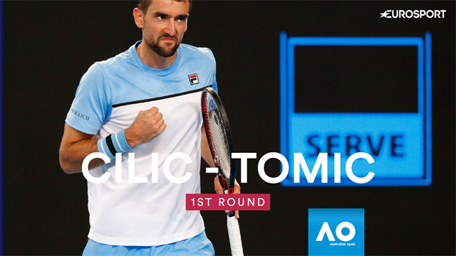 Highlights: Cilic beats Tomic in front of his home crowd