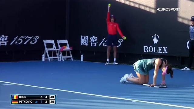 Петкович получила травму, поплакала на корте и снялась с Australian Open