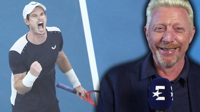 """Becker's Day: """"Unglaubliche Show von Murray"""""""