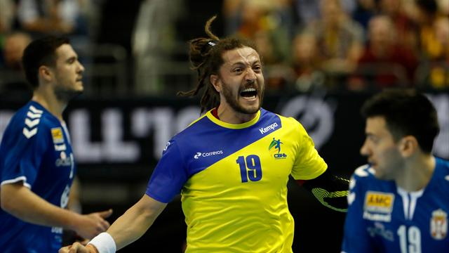 Brasilien zwingt Serbien in die Knie