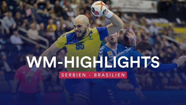 Brasilien verteidigt Führung gegen Serbien mit Zähnen und Klauen