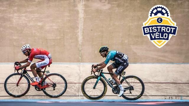 L'entrée dans le vélodrome de Roubaix des frères Turgis... comme si vous y étiez !