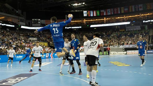"""Les Bleus ont """"souffert"""" contre la Corée et voient l'Allemagne comme le """"premier gros test"""""""