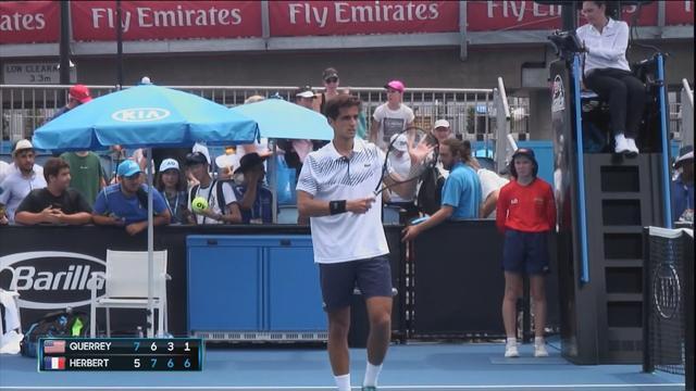 Tennis - Open d'Australie : Simon et Herbert au 2e tour