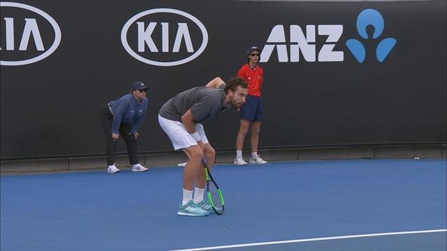Herbert premier Français au 3e tour — Open d'Australie