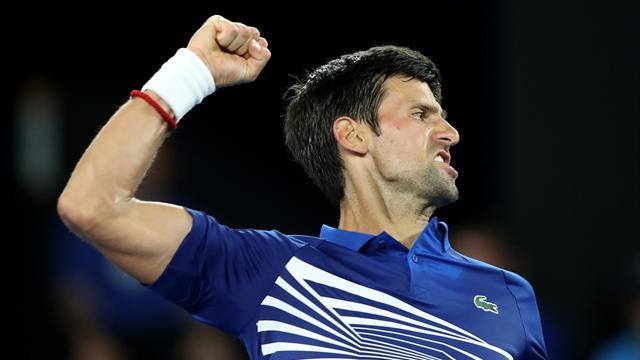 Djokovic démarre en patron