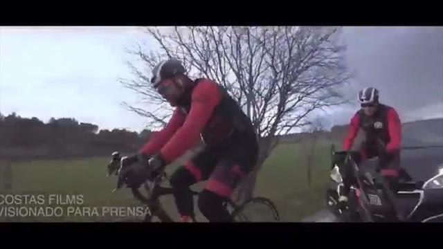 El impactante vídeo del atropello ciclista que compartió Dani Rovira