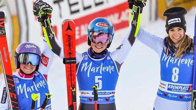 Mikaela Shiffrin sigue imparable y suma una nueva victoria en Kronplatz