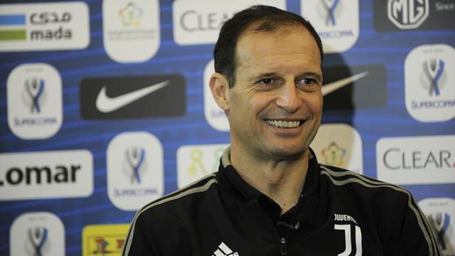 """Allegri insegue il decimo titolo: """"Che sfida col Milan! I punti di differenza non contano"""""""