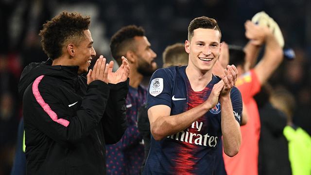 Pour vous, Draxler est le meilleur joueur de la 20e journée de Ligue 1
