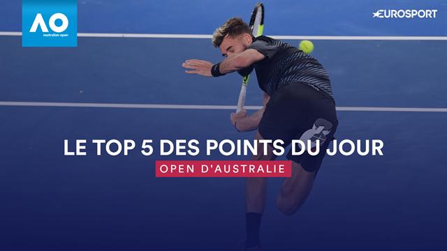 Open d'Australie: Paire cède en cinq sets contre Thiem