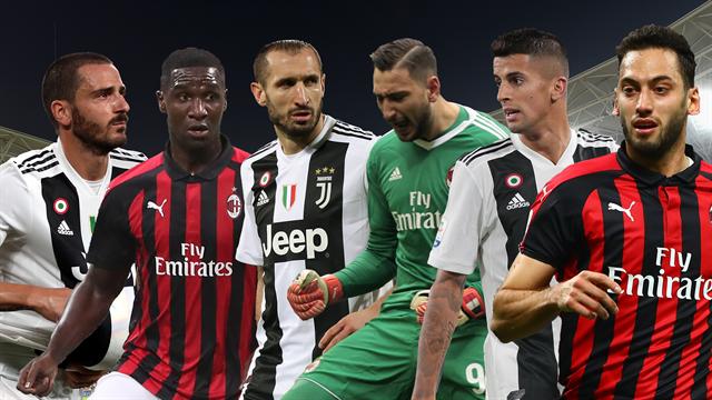 Non solo Ronaldo e Higuain! Juve-Milan: da Bonucci a Zapata, 6 giocatori in cerca di autore