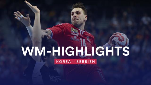 Serbien gewinnt mit viel Mühe gegen Korea