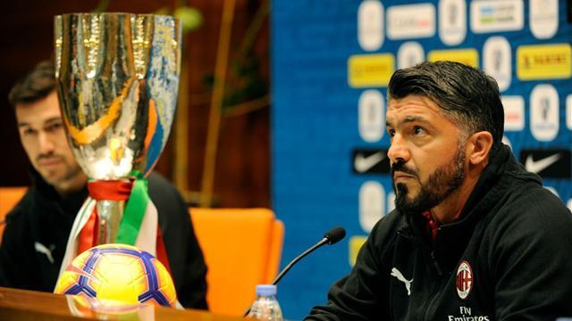 Gattuso suspendu un match pour contestation de l'arbitrage