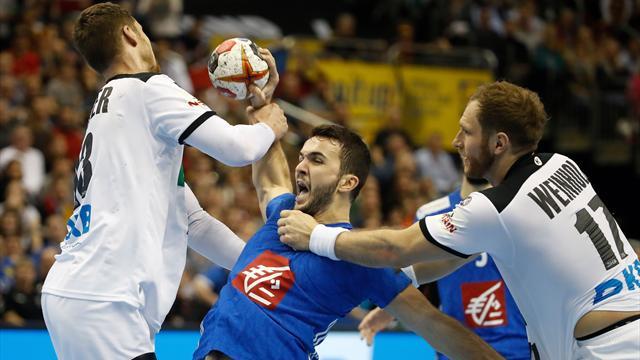 """""""Wahnsinn bis zum Schluss"""": Deutsches Handball-Drama gegen Frankreich"""