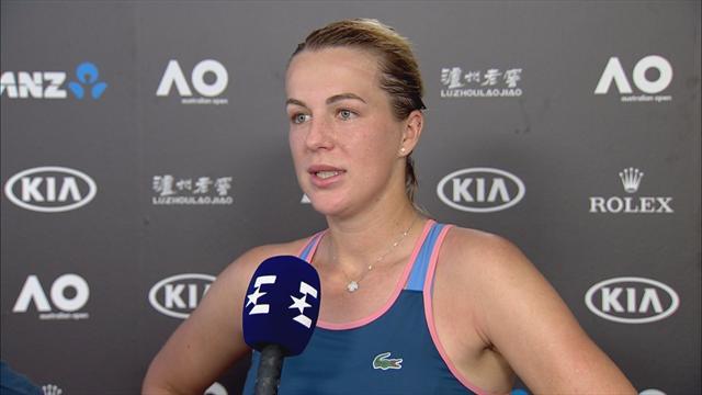 Павлюченкова закамбэчила с Бертенс и впервые за 2 года обыграла теннисистку из топ-10