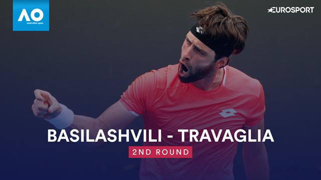 Open Australia 2019: Basilashvili-Travaglia, vídeo resumen del partido