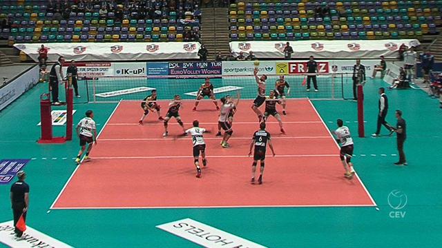 Highlights | United Volleys Frankfurt liefern Roeselare großen Fight
