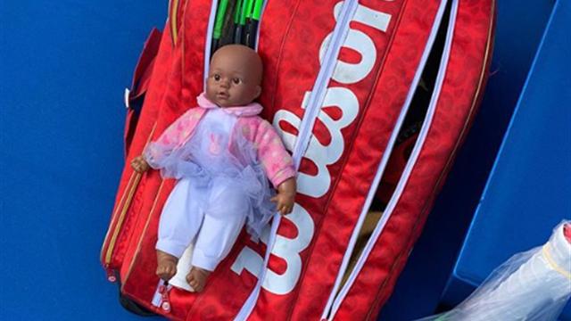 «Я хотела, чтобы первая кукла дочери была черной». Серена об игрушке, которую купила Олимпии