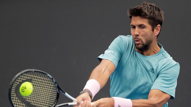 ATP Rotterdam, Daniil Medvedev-Fernando Verdasco: Rápido fin de la aventura (6-2 y 7-5)