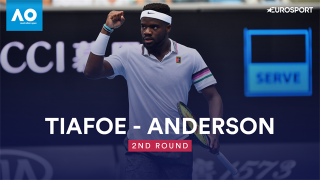 Highlights: Hier wirft Tiafoe Anderson raus