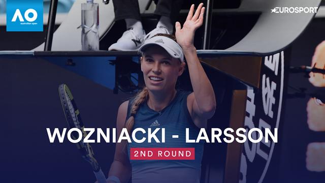 Wozniacki éliminée de l'Open d'Australie au troisième tour