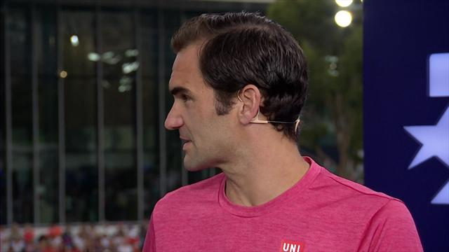 "OpenAustralia 2019, Federer en Eurosport ""Tuve nervios ante un rival que te lleva al límite"""
