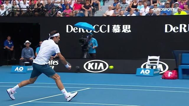 Федерер встретил равного себе, но красоты и грации Эванса хватило лишь на два сета