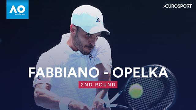 Australian Open: Fabbiano-Opelka 6-7 6-2 6-4 3-6 7-6, gli highlights