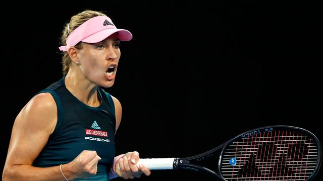 Kerber continues fine form to beat Haddad Maia and reach third round