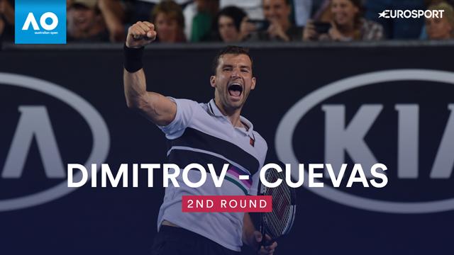 Open Australia 2019: Dimitrov vs Cuevas, vídeo resumen del partido