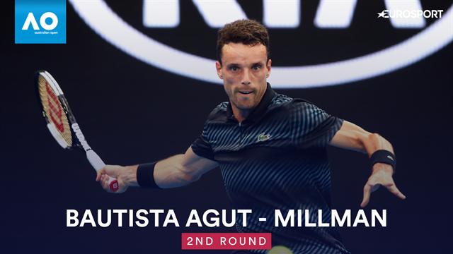 OpenAustralia 2019, Bautista-Millman: Otro maratón con final feliz (6-3, 6-1, 3-6, 6-7(6) y 6-4)
