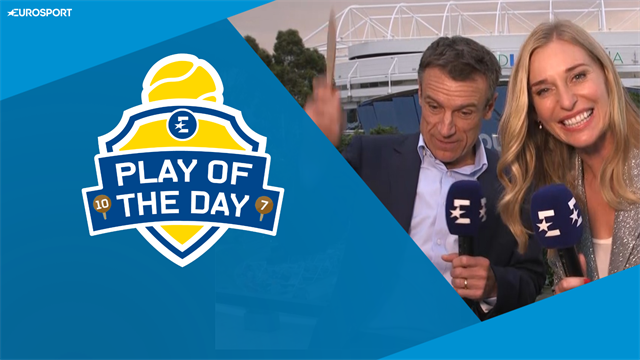 Play of the Day: 'If you're going to break a racket, break it properly!'