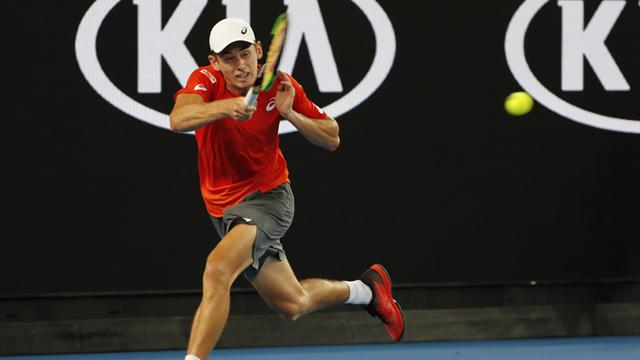 De Minaur comes back from the brink to beat qualifier Laaksonen