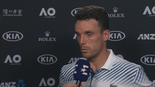 """Open Australia 2019, Bautista: """"Estoy eufórico, he hecho un gran partido"""""""