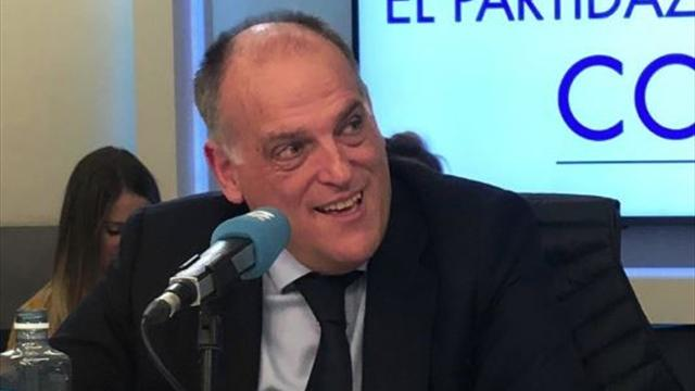 La Liga president Tebas resigns to stand again in new elections
