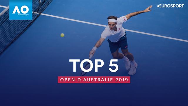 Federer et Kvitova ont réponse à tout : le Top 5 des points du jour