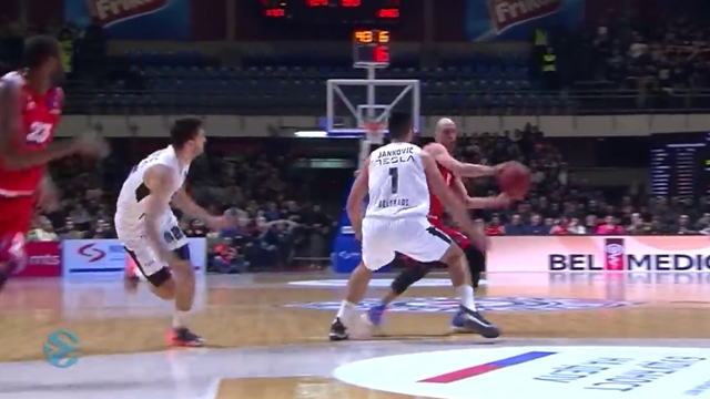 Highlights: Partizan NIS Belgrado-AS Monaco 68-72