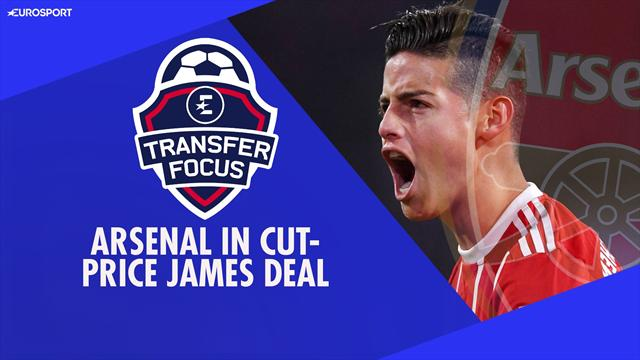 Transfer Focus: Arsenal swoop for cut-price James Rodriguez