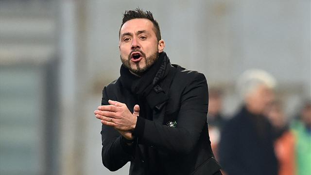 """De Zerbi: """"Posso allenare anche Juve e Real, ma a modo mio. Boateng? Non l'ho trattenuto"""""""