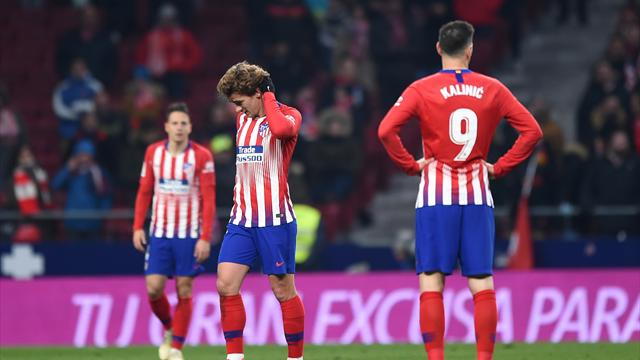 Atletico eliminated by Girona in last 16 of Copa del Rey