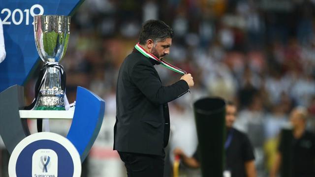 Milan, anche Gattuso squalificato e multato dopo la Supercoppa Italiana