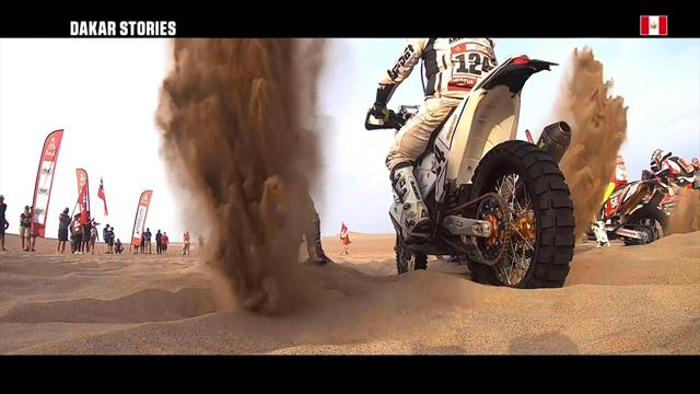 Dakar Stories: Gregory's journey comes to halt on way to Pisco