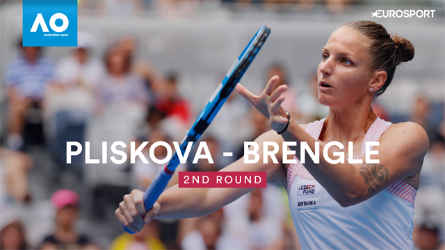 Highlights: Pliskova overcomes scare to beat Brengle