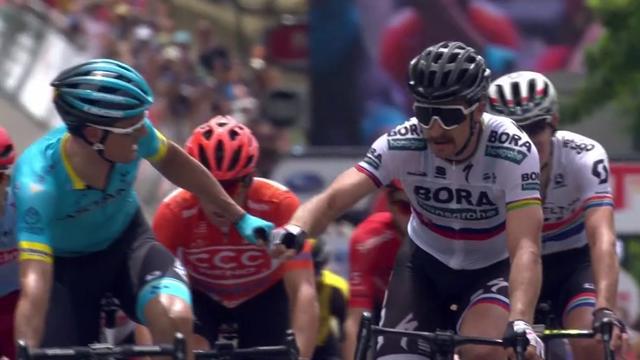 Squillo di Sagan al Tour Down Under: sua la terza tappa in volata su Sanchez