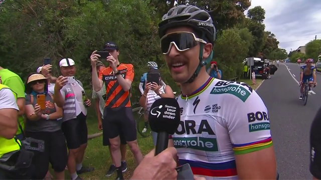 Sagan: It was almost a copy of last year's race!