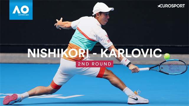 Highlights: Nishikori holds nerve to beat Karlovic in five-set thriller
