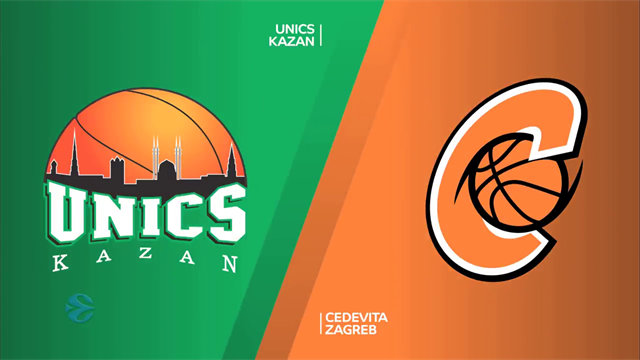 EuroCup highlights: UNICS Kazan v Cedevita Zagreb
