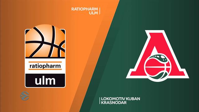 EuroCup highlights: Ratiopharm Ulm v Lokomotiv Kuban Krasnodar