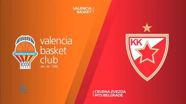 EuroCup highlights: Valencia Basket v Crvena Zvezda MTS Belgrade